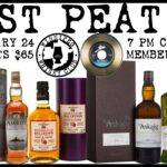 Just Peat It: A Scotch Tasting February 24 7pm